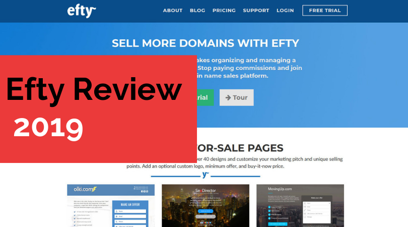 Efty Review 2019 – Get Your Own Domain Marketplace